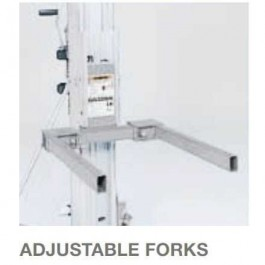 Genie Optional Adjustable forks Only for SLC Lifts