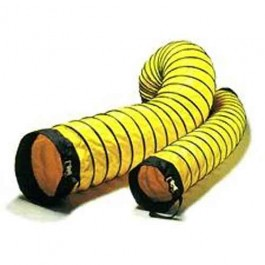 """Schaefer Ventilation Americ Confined Space Ventilator Accessory 8"""" x 15' Duct with Cinch Strap AM-DS0815"""