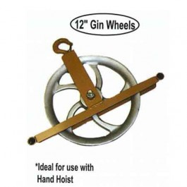 "ASE Hoist 12"" Gin Wheel"