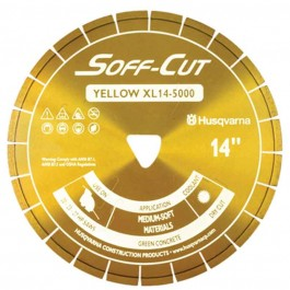 "Husqvarna 6"" 5000 Yellow Series Soff-Cut Saw Blade-542777009"