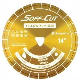 """Husqvarna 10"""" 5000 Yellow Series Soff-Cut Saw Blade-542756104"""