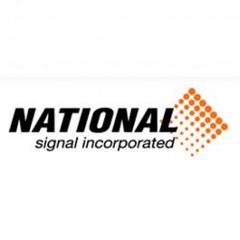 National Signal Tail Light Kit 6 Pin Round