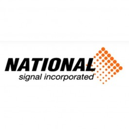 """National Signal Slide Sign Shift 18"""" Away From Traffic"""