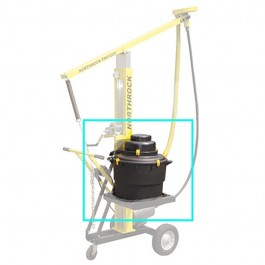 Northrock 645B1 Ceiling Grinder Dust Collection System