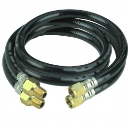 """RGC 1/2"""" x 12"""" Pair Hose Whips(for Pole Tampers)"""