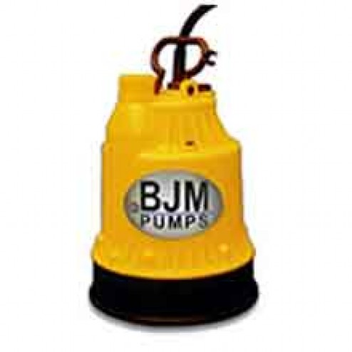 "BJM Pumps BABY 1"" 12 Volt Submersible Water Pump"