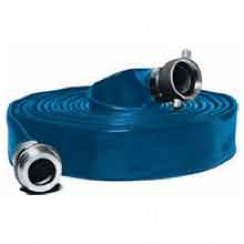 "50ft Long 4"" Water Discharge Hose by Abbott Rubber"