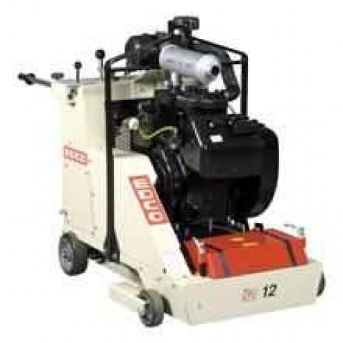 12 inch Gas 38HP CPU-12FC Self Propelled Concrete Scarifier EDCO