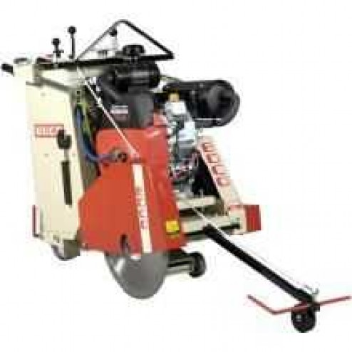 "EDCO SS-20 20"" Self Propelled Electric 10hp -3P Walk Behind Concrete Saw"