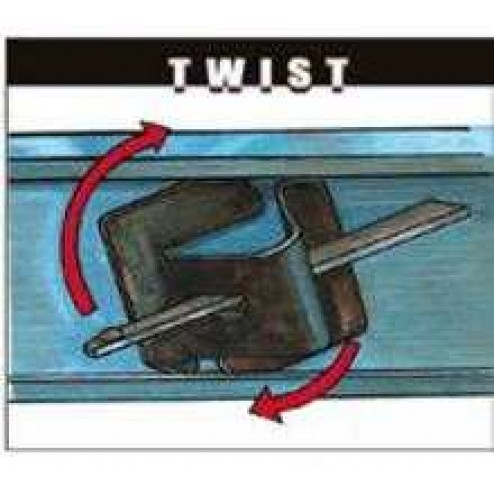 Metal Forms Twist Pocket Kit 30-PACK