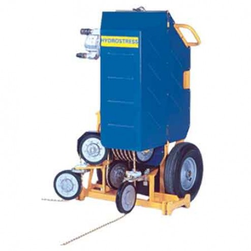 Complete Hydrostress Wire Saw System with 40 CC Motor Diamond Products