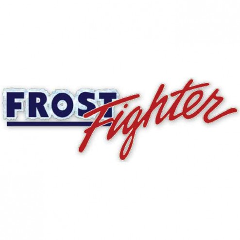 """Frost Fighter 47103E 12"""" x 50ft Solid LAY-FLAT Duct w/ Belt Cuff"""