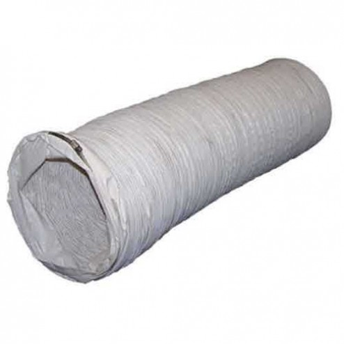 """Flagro THCP-WD18 18"""" x 12 ft White Duct (THC-355DF)"""