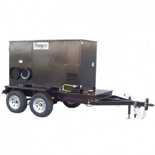Flagro FVO-750TR Self Contained Trailer w/FVO-750 Indirect Fired Heater