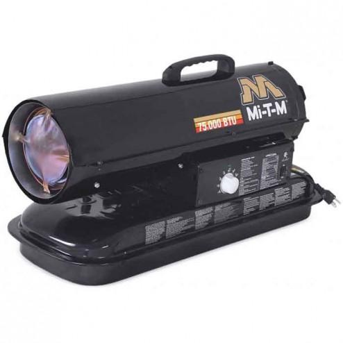 Mi-T-M 70,000 BTUs/h Forced Air Oil Heater MH-0070-0M10