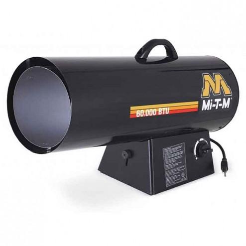 Mi-T-M 60,000 BTUs Forced Air Propane(LP) Variable Heater MH-0060-LM10