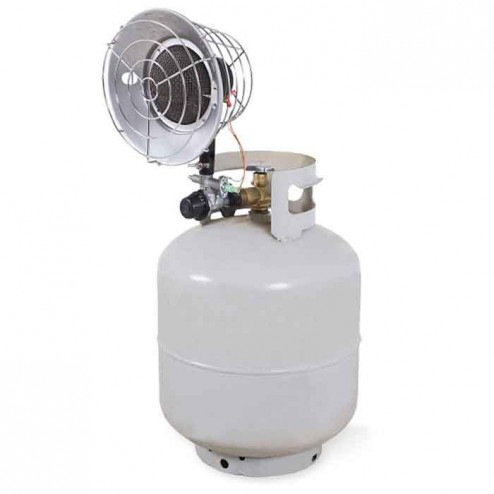 Mi-T-M Single Burner Propane Radiant Heater MH-0015-IM10