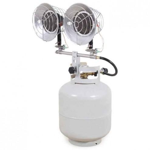 Mi-T-M Double Burner Propane Radiant Heater MH-0030-IM10