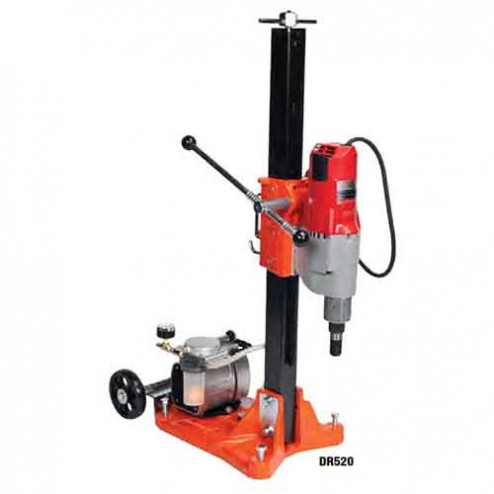 Norton Products DR520 DS5 base- 20A Milwaukee Drill Rig Package w/Vacuum Pump
