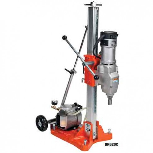 Norton Products DR620 DS6 base- 20A Cardi Drill Rig Package w/Vacuum Pump