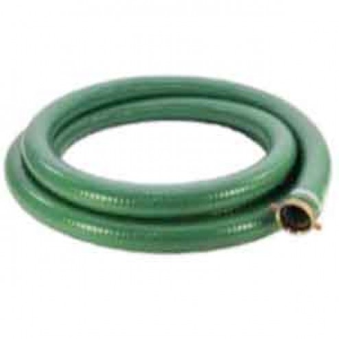 """20ft Long 2"""" Water Suction Hose by Abbott Rubber"""