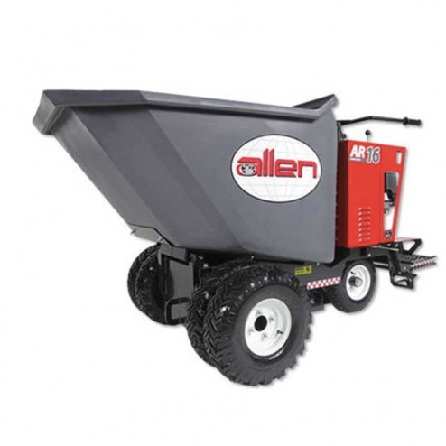 Allen 16 Cu Ft Power Buggy with Polly Bucket and Pneumatic Tires- AR16PBE-P