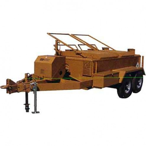 ASE 600Gal 9HP Standard Lid Asphalt Kettle with Temp Control