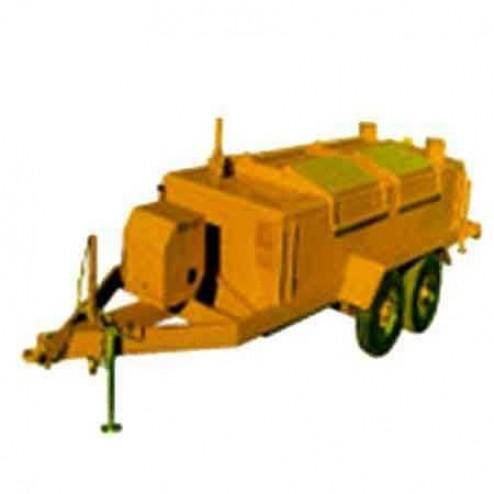 ASE 850Gal 9HP Standard Lid Asphalt Kettle Pumper