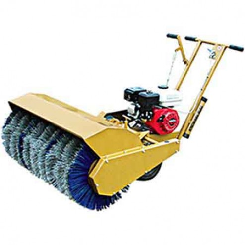 "ASE MS-36 5.5HP Poly Steel 36"" Mechanical Sweeper"