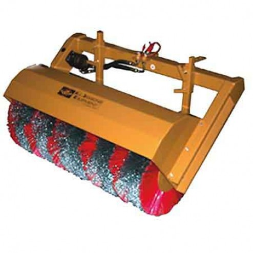 """ASE 40"""" Poly Coil Hydraulic Tractor Sweeper Attachment"""