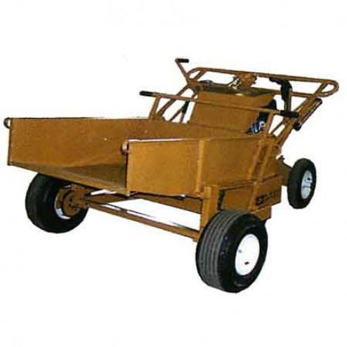 ASE Walk Behind Power Buggy with Hydraulic Dump