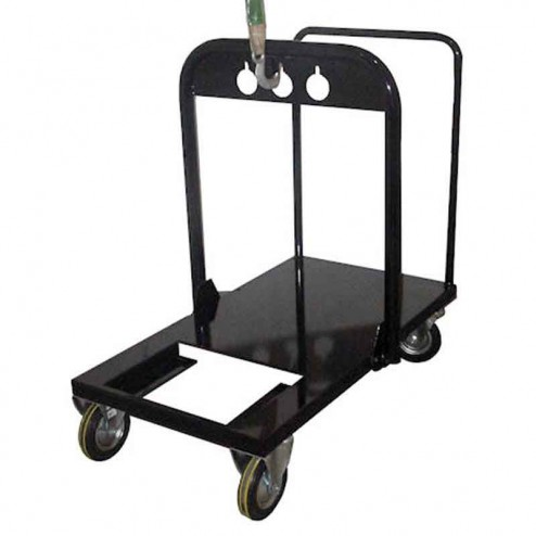 Black-Jack Push Cart With Lifting Attachment for Pumps