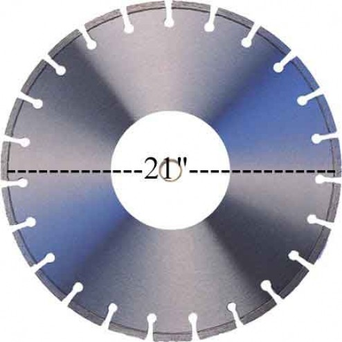 "RGC 21"" X 0.145"" FlatSaw Blade 5212213"