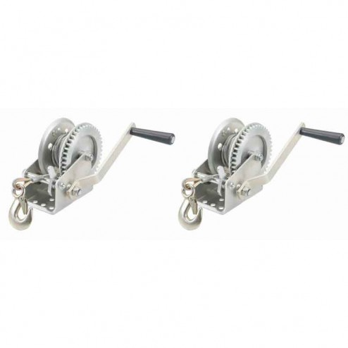 Bartell Super Screed Double Hand Winch