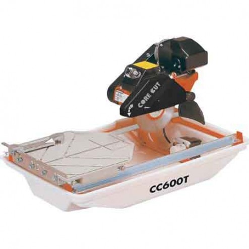 """CC600T 3/4 hp 7"""" Electric Tile Saw Diamond Products"""