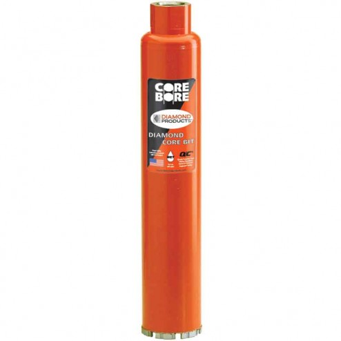 "Diamond Products Heavy Duty Orange Wet Core Bit 1""-04812"