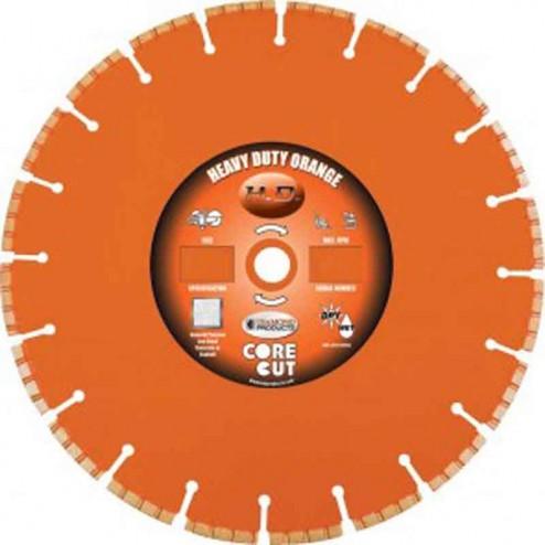 "Diamond Products Heavy Duty Orange H 16"" Wet Blade-07640"