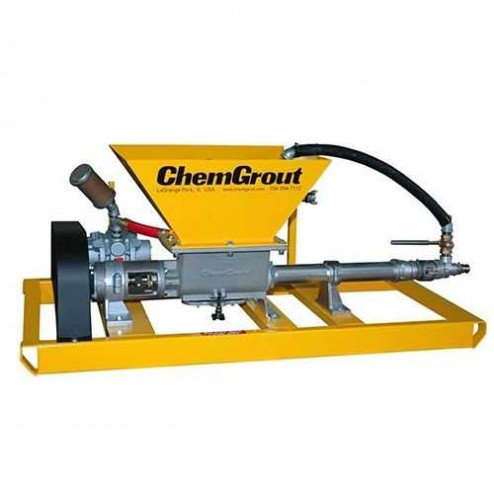 "ChemGrout CG-030 Hydraulic 3"" Piston Grout Pump"