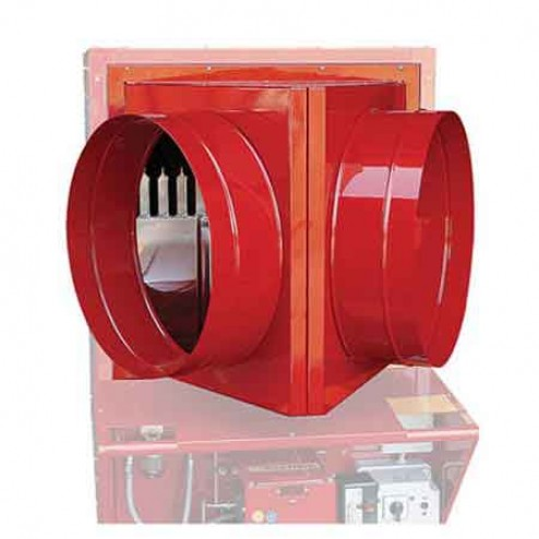 """Cantherm 12"""" Two Way Duct Adapter for EC 300"""