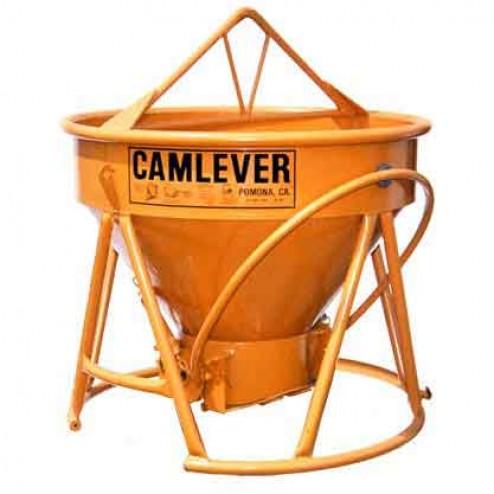 1 Yard Steel Concrete Bucket Lite'N'Tuff by Camlever