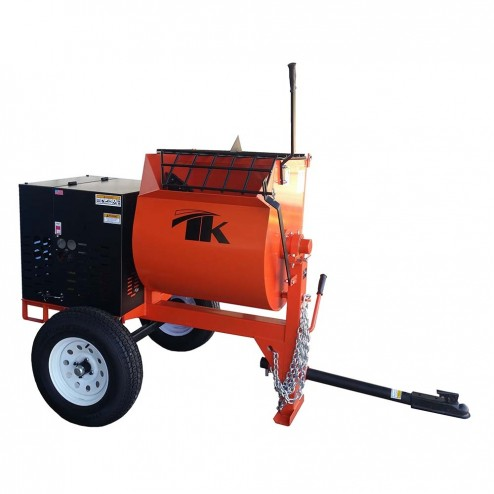 TK MM12 GH13 - 12 cu./ft. Mortar Mixer 13HP Honda