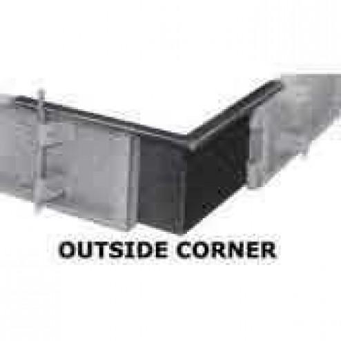 "4"" Steel Outside Corner Form"