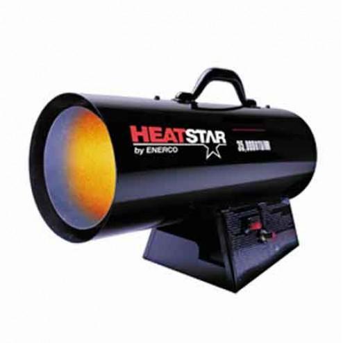 Enerco HeatStar HS125FAV Forced Air Propane Heater 75,000–125,000 BTU
