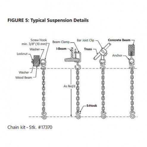 HeatStar Chain Kit For Tube Heaters-17370