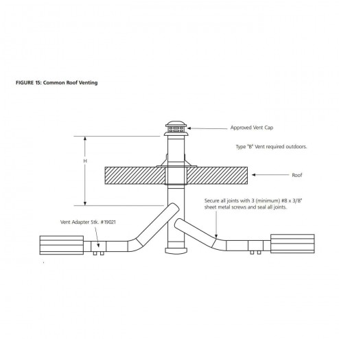 HeatStar Vent Adapter for Tube Heaters 19021