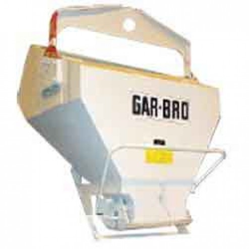 8 Yard Laydown Concrete Bucket 4236-L by Gar-Bro