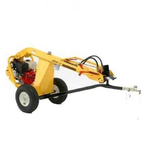 Ground Hog HD99 Honda Hydraulic One man Towable Earth Drill