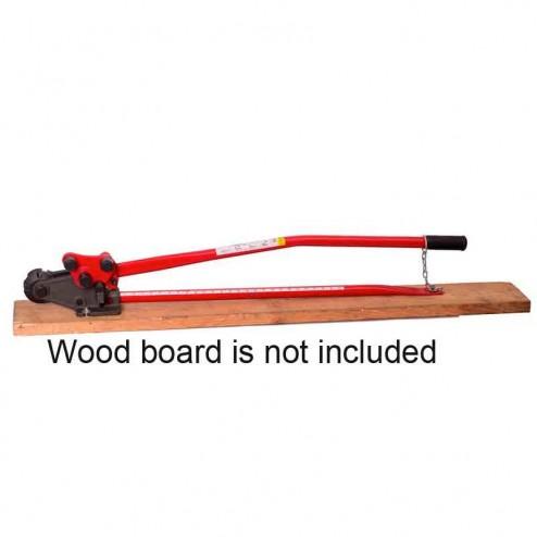"""HIT Tools 5/8"""" Manual Rebar Bender Cutter Combo 22-RC16B-3"""