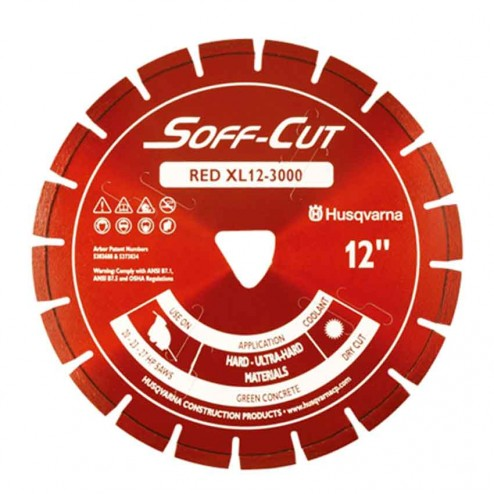 """Husqvarna 6"""" 3000 Red Series Soff-Cut Saw Blade-542777007"""