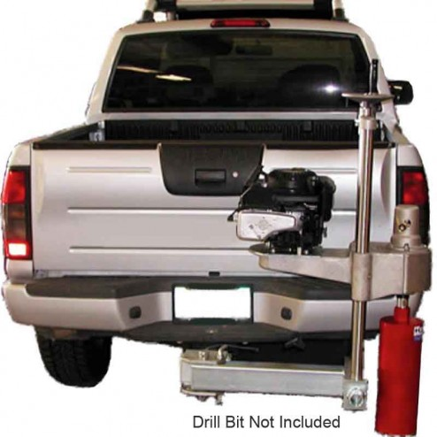 Kor-it Inc K-1616-G17 Hitch Mounted 17.5HP Gasoline Core Drill W/ Electric Start